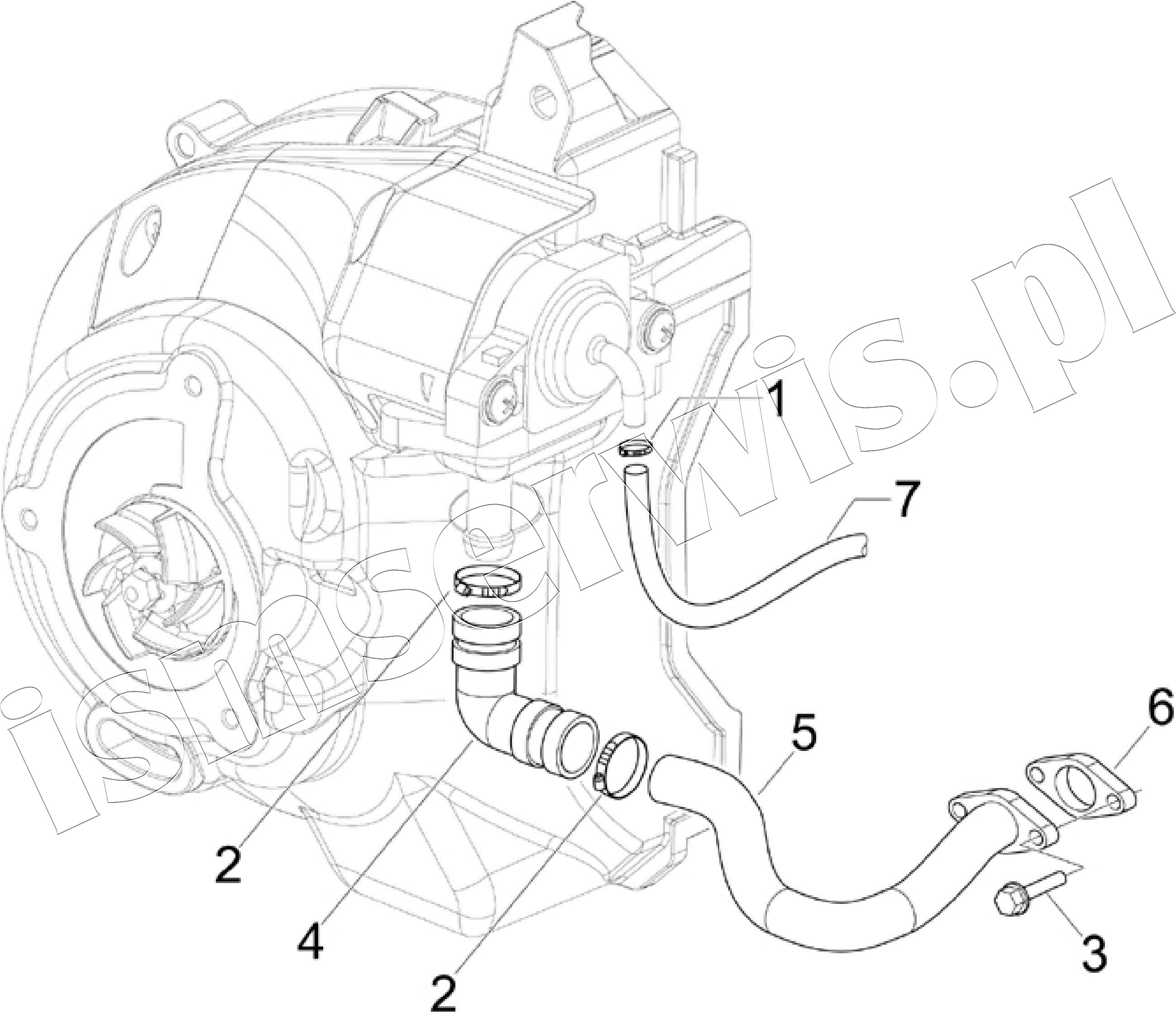 Wiring Harness And Cable Routing Diagram For 2006 Piaggio Mp3 125cc